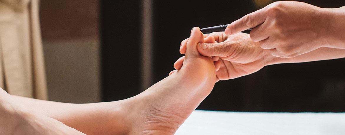 Рефлексолоджи массаж 45 минут