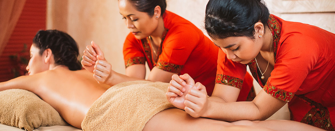 Джимбаран-массаж 2 Мастера 1 час 30 минут